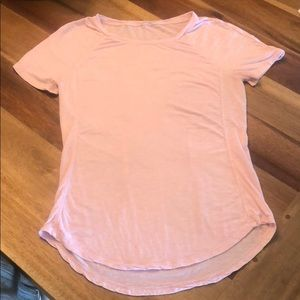 Kit and ace technical cashmere blend t-shirt pink